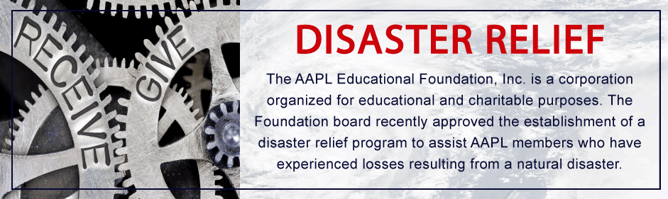 AAPL-Disaster-Relief