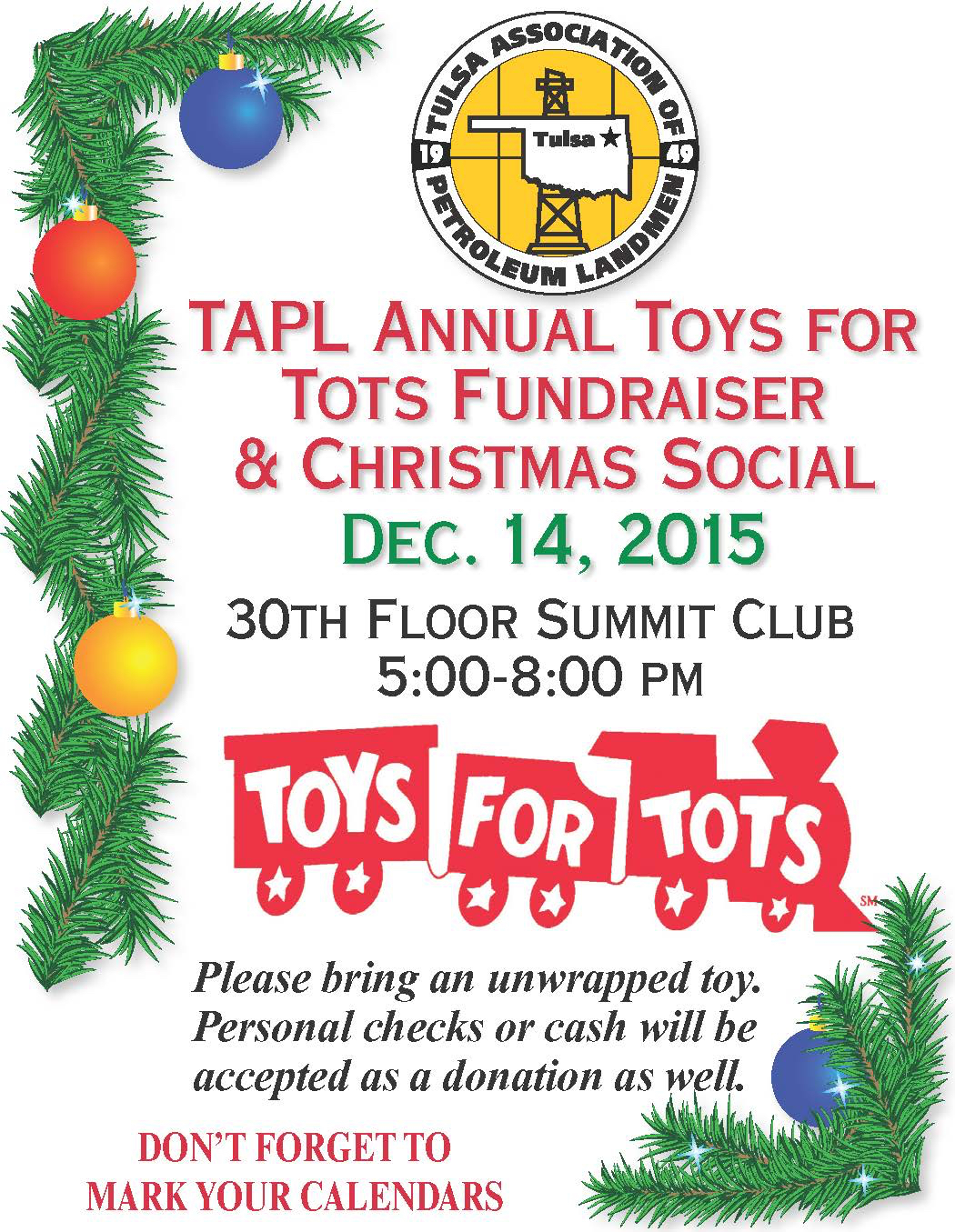 Toys For Tots Flyers Printable : Event toys for tots christmas social